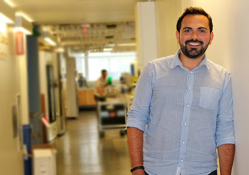 Fabiano Antoniak in Dr. King's Lab