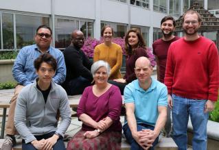 Joslin research team group photo
